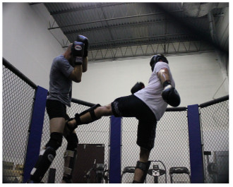 Muay Thai Training at Midwest Training Center